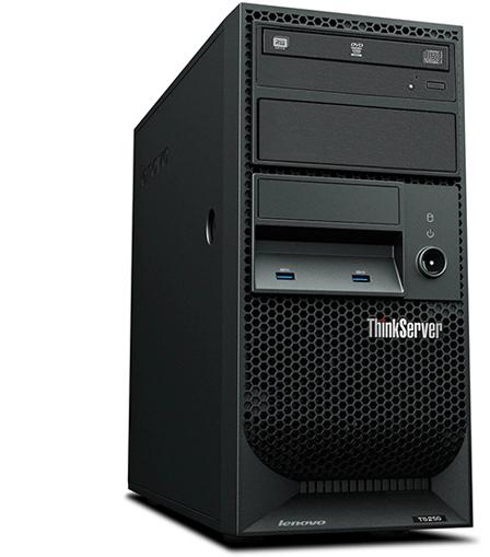 ThinkServer,ThinkServer TS250塔式服务器,塔式服务器,服务器-, 联想商用官网