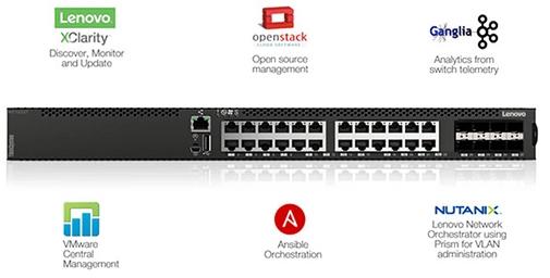 网络设备,ThinkSystem NE1032T交换机,数据中心交换机-, 联想商用官网